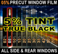 Precut All Sides & Rears Window Film Black 5% Tint Shade For Nissan Trucks Glass
