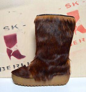 Italy Fellstiefel Plateau Bottes de Vintage Yeti Polaris hiver en Stiefel Made Vintage rqFxrnE6