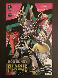 Boo-Bunny-Plague-1-2014-first-printing-original-DC-Comic-book-1st-print