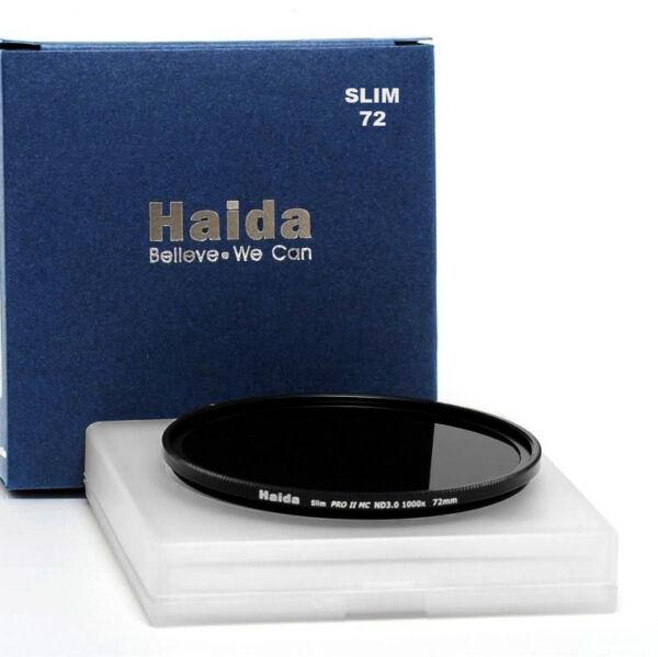 Compacte Haida 72 Mm Pro Ii Mc Nd1.8 64x Nd64 Densité Neutre Gris Filtre Hd2018 Attrayant Et Durable