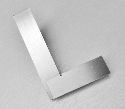 """3"""" SQUARE 90º RIGHT ANGLE STEEL SQUARE MEASURE & LAYOUT HOBBY MODEL PROJECTS DIY"""