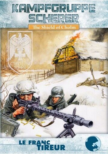 ASL Advanced équipe Leader LFT Kampfgruppe Scherer The Shield of Cholm, English