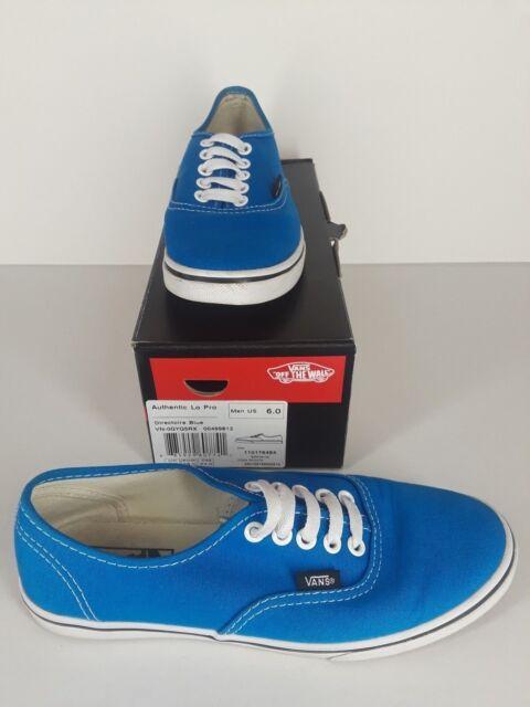 Ausverkauf Damen VANS Authentic Sneakers Blau Rot