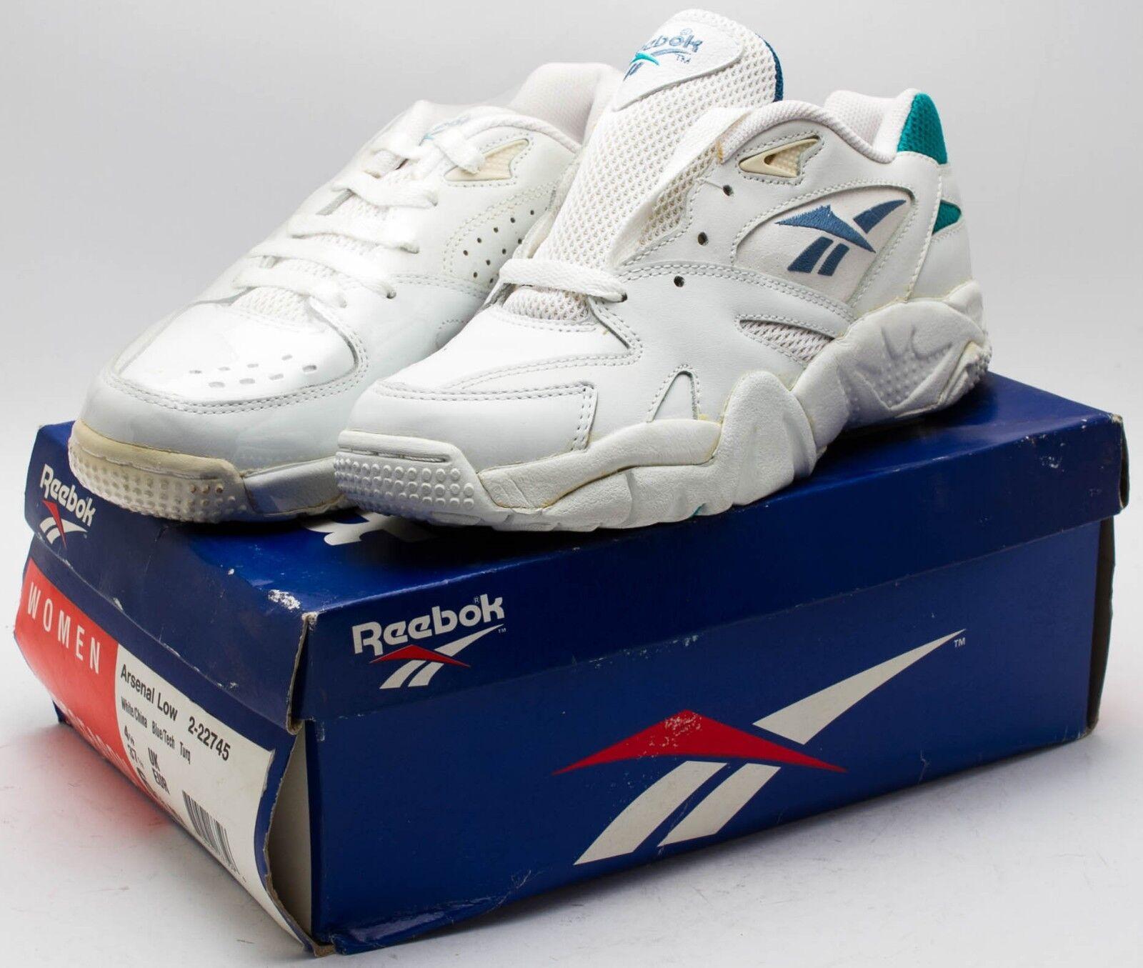 Reebok Women's Vintage 1991 Arsenal Low shoes 2-22745 White sz.6.5