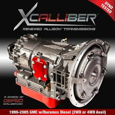 Allison 1000 2000 Duramax Transmission Stage 1 Red Performance Deluxe Kit Shallow Pan 2001-05