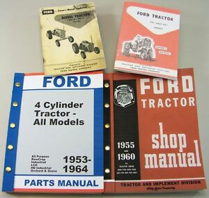 ford   diesel tractor owner operators parts repair
