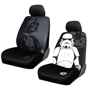 Star Wars Stormtrooper Car Seat Covers