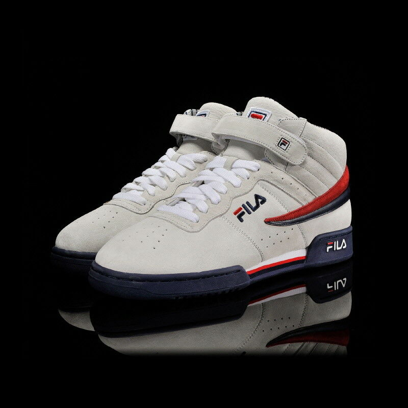 New FILA F-13 PS shoes Suede Beige Men's Limited Edition F1XKZ5946 Size 5-10 TN