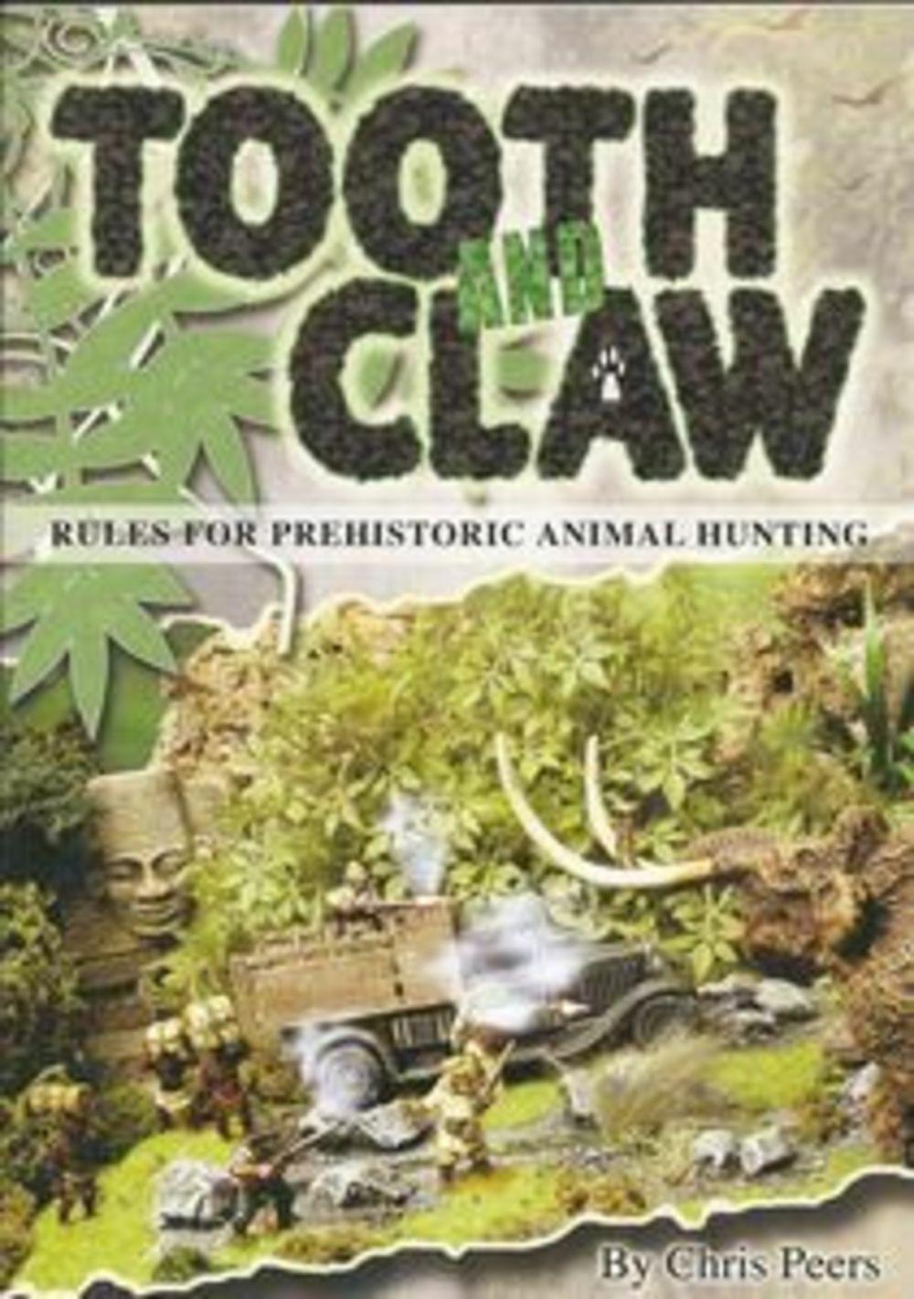 precios razonables Diente y Sacaclavos - Reglas para para para Prehistorico Animal Caza - Chris Peers -Oop  tienda en linea