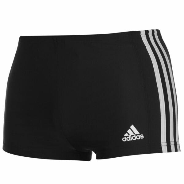 Abile Adidas 3s Infinitex Drive Boxer Pantaloncini Nero Da Uomo/bianco Rinfresco