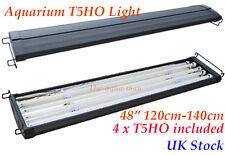 """T5 Aquarium Fish Tank Overhead Lighting Four Tube Light 120cm 140cm 48"""""""