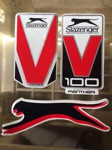 Cricket Bat Sticker Slazenger Replacement Stickers Tape Brand New