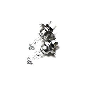 Saab 9-3 YS3F H7 55w Super White Xenon HID High Main Beam Headlight Bulbs Pair
