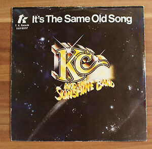 Single-7-034-Vinyl-Kc-and-the-sunshine-Band-It-s-the-same-old-song