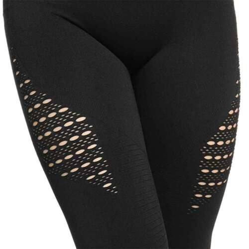 Women Camo Seamless Leggings High Waisted Gym Run Jogging Fitness Yoga Pants NEW