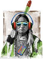 Native Beats Shirt, Native American, Graphic T-shirt, Small - 5x, Cool T