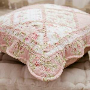 Shabby Chic French Country Cottage Floral Sofa Throw
