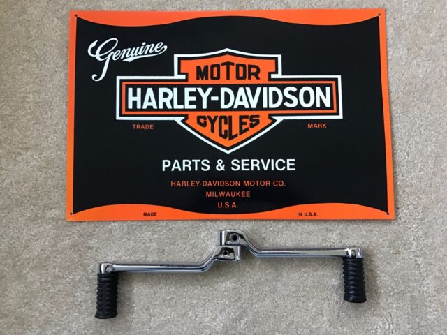 * OEM-Harley Davidson Heel/Toe Shift Levers with HD Rubber Pegs