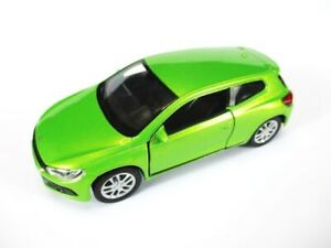 VW-Scirocco-Volkswagen-Modellauto-Metall-11-5-cm-Welly-Nex-NEU