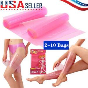 sauna firm slimming belt leg wrap shaper burn fat