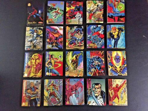 Chose 8 for $1 Complete your Set 1994 Marvel Universe by Fleer Commons