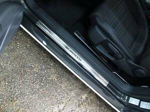 VW-SCIROCCO-2008-2014-Stainless-Steel-Door-Sill-Guard-Cover-Scuff-Protectors-2pc