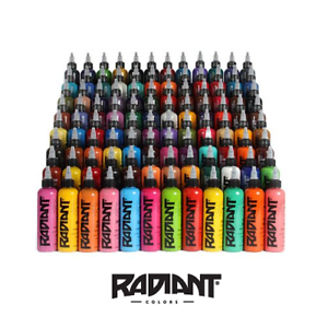 Tattoo Ink Colors >> Radiant Tattoo Ink Official Distributor All Colours Colors