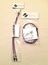 NEW Snafu Astroglide Dual Upper & Y Lower BMX Gyro Cable Set / Kit Purple Brake