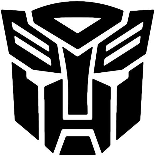 Transformers Autobot Vinyl Decal Sticker Car Van Laptop Tablet Wall