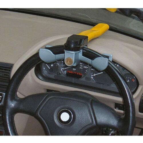 Streetwize Anti-Theft Car//Van Security Rotary Steering Wheel Lock