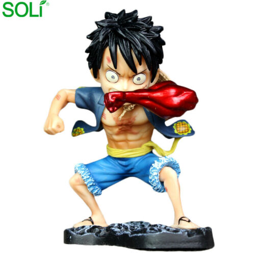 One Piece Monkey D Rufy Gear Second Metal Action Figure PVC 15CM