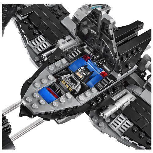 LEGO 76046 Super Heroes Superhelden Superhelden Superhelden Action Set Superman Batman Batwing Komplett b2b384