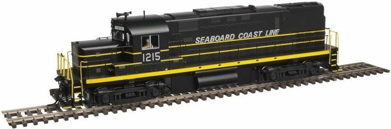 SEABOARD COAST LINE LOW NOSE C420 PH 2A DIESEL W/ESU LOKSOUND & DCC - ATLAS GOLD