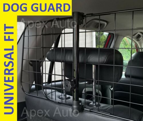 AUDI Q3 DOG GUARD Boot Pet Safety Mesh Grill EASY HEADREST FIT No tools req
