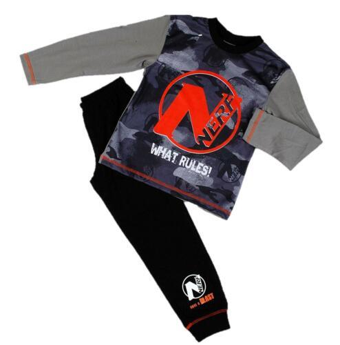Official Boys Nerf Kids Pyjamas 5-12 Years