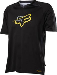 Fox Racing Tech Aircool s/s Jersey Black
