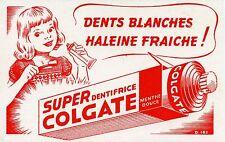 BUVARD PUBLICITAIRE /  SUPER DENTIFRICE COLGATE