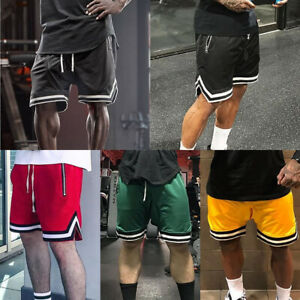 Men-039-s-Casual-Shorts-Pants-Athletic-Breathable-Mesh-Running-Basketball-Quick-Dry