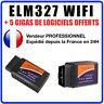 ELM 327 WIFI OBD 2 Valise de diagnostique pour PC Iphone Tablette Android