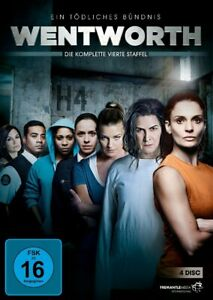 4 DVD * Wentworth-Season/Stagione 4 # NUOVO OVP & B