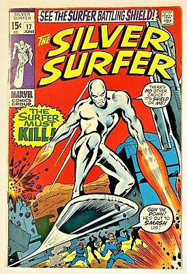 Silver Surfer 17 1968 Series Vf Guide Book Value 108 00 Copy 1 Ebay