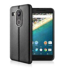 Supremery Nexus 5X Case Hülle Backcover Lederoptik  Bumper Schutzhülle