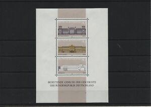 Allemagne-Federal-Rfa-Vintage-1986-Bloc-20-Neuf-MNH-Plus-Sh-Boutique