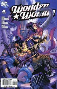 Wonder-Woman-4-Dc-Comic-Book-2007-Nm