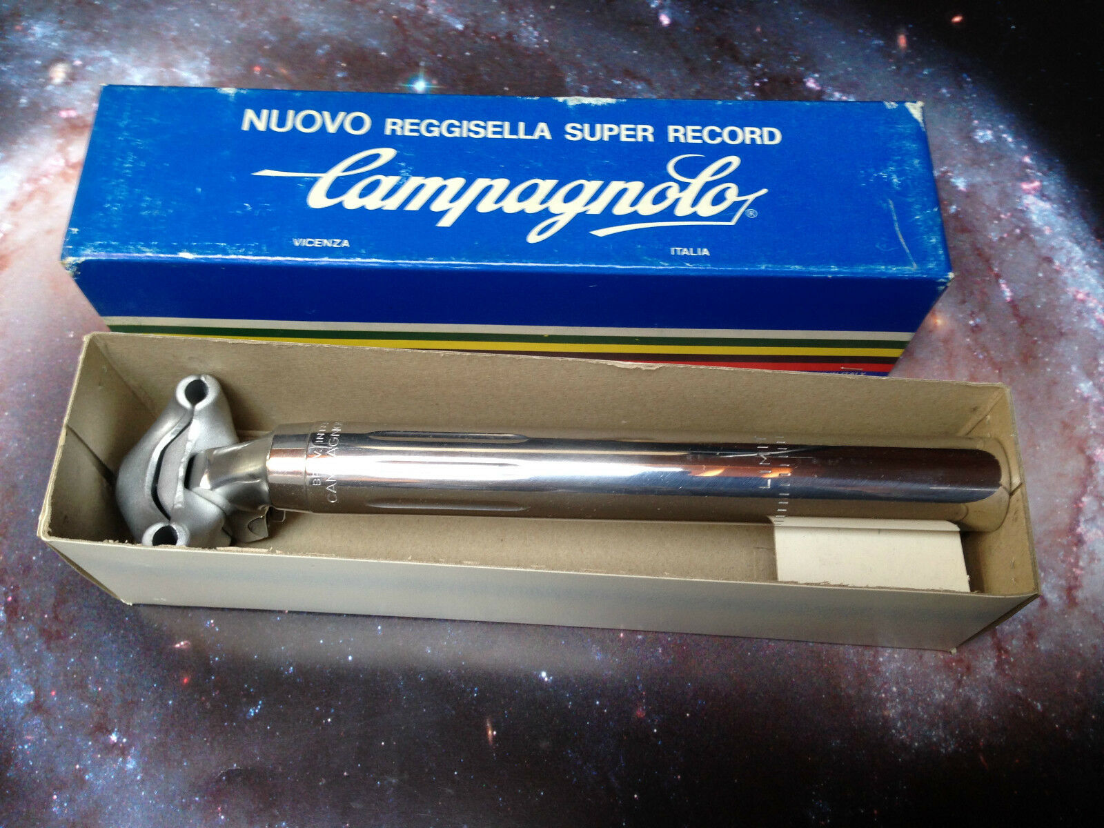 Campagnolo Reggisella NUOVO Super  Record 25mm seatpost ALAN STELBEL VITUS  sales online