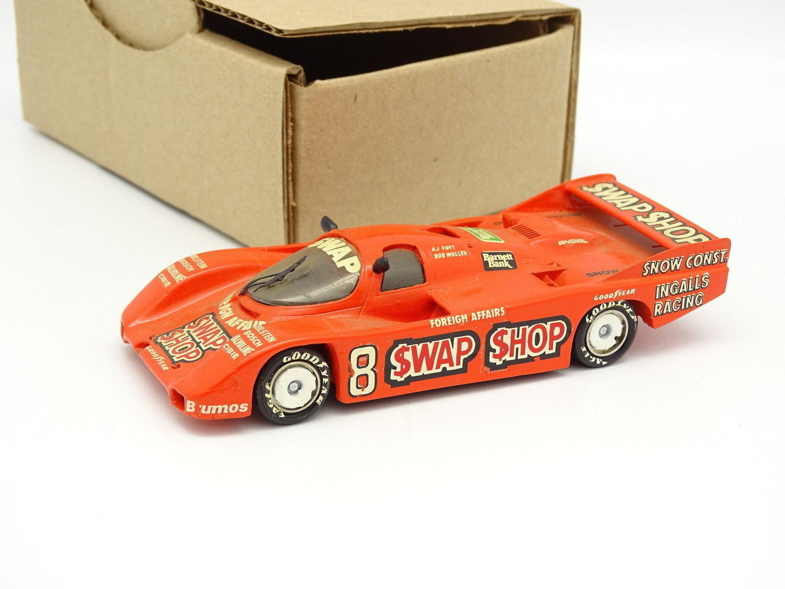 Starter Kit Assembled SB SB SB 1 43 - Porsche 962 Swap Shop Sebring Winner 1985 N°8 59c3bd