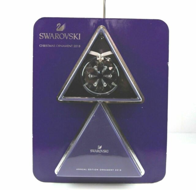 2203aac8b3663 Swarovski Crystal 2018 Annual Edition Large Christmas Ornament 5301575