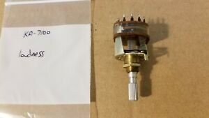 Kenwood KA-7100 amplifier loudness switch S01-1043-05