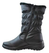 dd6ed5f9d58 Totes Women s Madina Double Zip Snow Boot Wide Calf Black 9 for sale ...