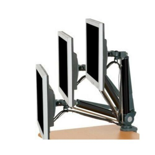 """LASER MOUNT LCD MONITOR TV ARM 1X 24/"""" SCREEN ROTATABLE BRACKET STAND AO-ARM360"""